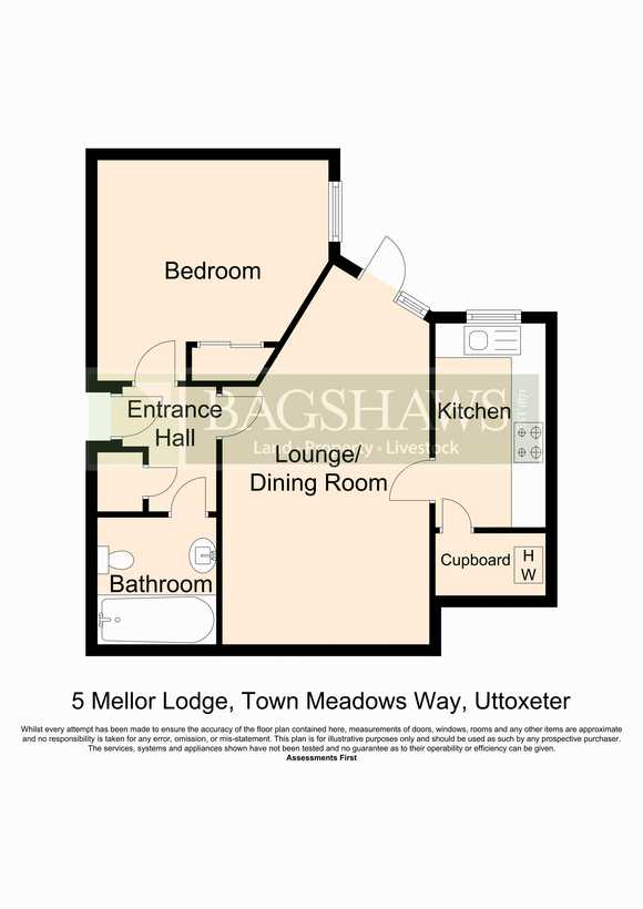 5 Mellor Lodge, Town Meadows Way, Uttoxeter