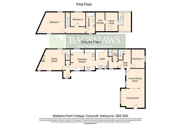 Middleton Farm Cottage, Collycroft, Clifton, Ashbourne