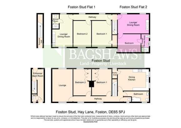 Foston Stud, Hay Lane, Foston, Derby