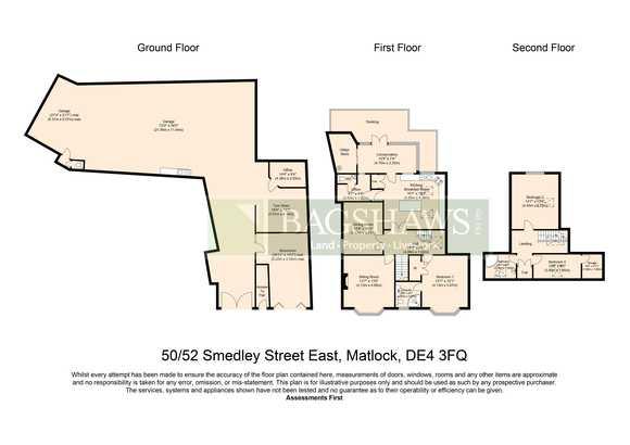 50-52 , Smedley Street East, Matlock