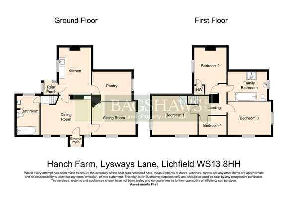 Hanch Farm, Lysways Lane, Hanch, Lichfield