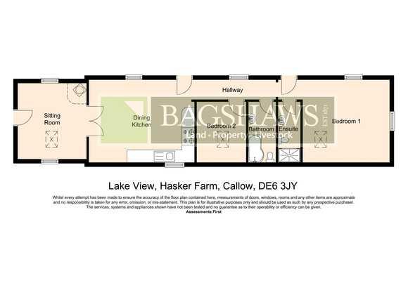 Lake View, Hasker Farm, Stainsbro Lane, Kirk Ireton, Ashbourne