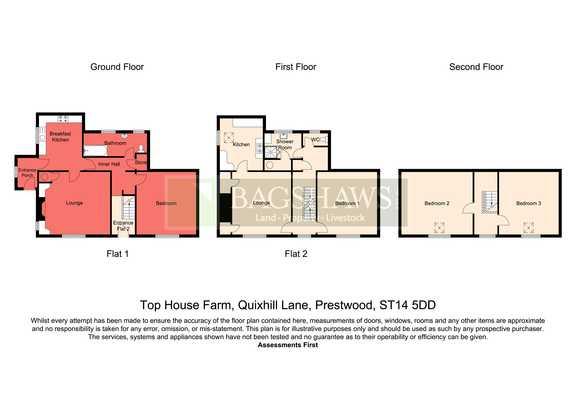 Top House Farm, Quixhill Lane, Prestwood, Uttoxeter