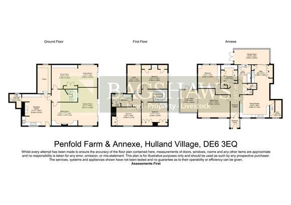 Penfold Farm and 1.8 acres, Hulland Village, Ashbourne