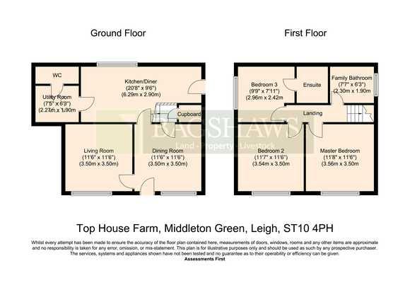 Top House Farm, Hill Lane, Leigh, Stoke-On-Trent