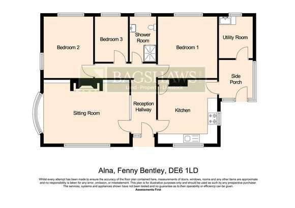 Alna, Ashes Lane, Fenny Bentley, Ashbourne
