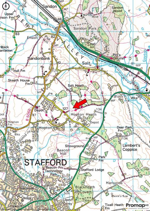 Land off, Within Lane, Hopton, Stafford
