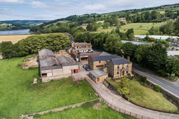 Lot 1 - Stacey Bank Farm, Stacey Bank, Loxley, Sheffield - Image 1