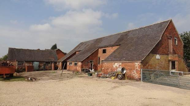 The Barns, Grange Farm, Bramshall - Image 1