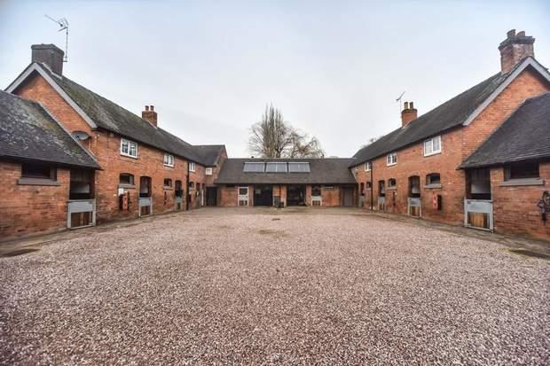 Foston Stud, Hay Lane, Foston, Derby - Image 1