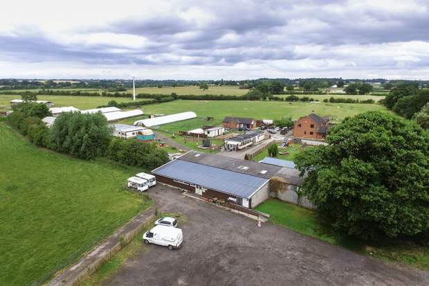 The Pastures and Land at Highfields Farm, Heage Lane, Etwall, Derby - Image 1