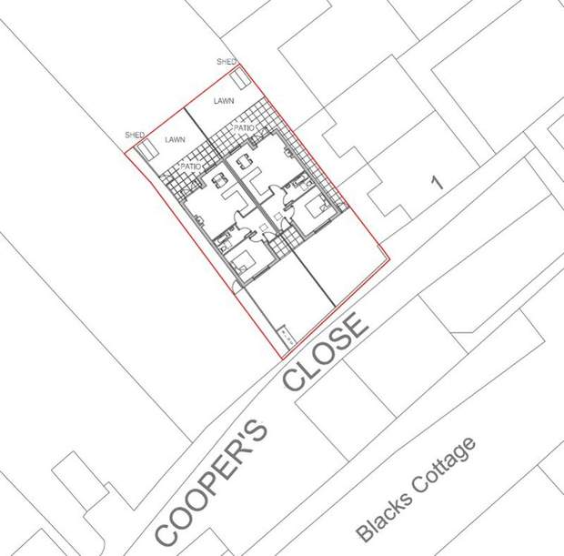 Building Plot off, Coopers Close, Ashbourne - Image 3