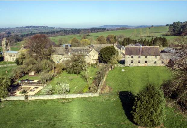 Manor Farm, Barn for development and 55 acres, Dethick, Matlock - Image 1