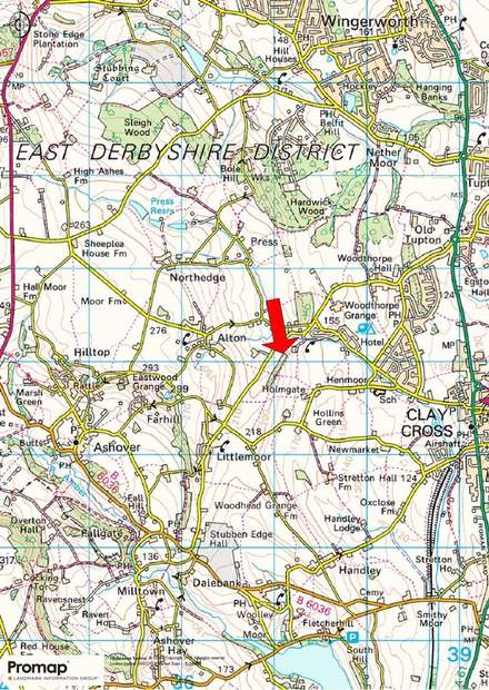 Land and Woodland off Ashover Road, Alton, Chesterfield - Image 6