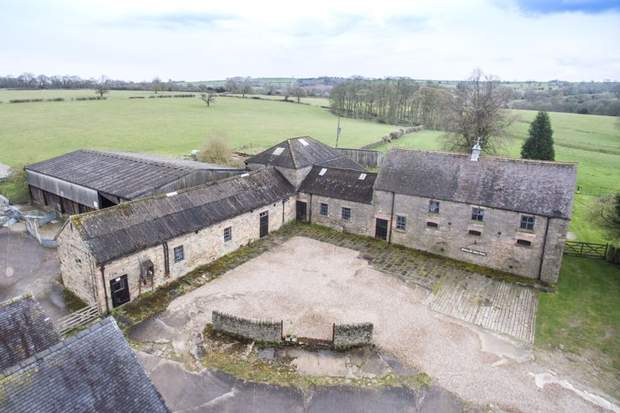 Barn for development, Manor Farm, Dethick, Matlock - Image 1