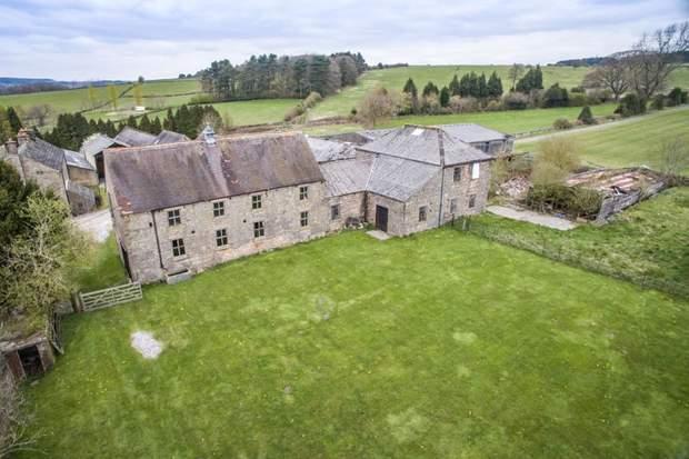 Manor Farm, Barn for development and 55 acres, Dethick, Matlock - Image 4