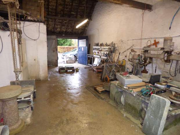 Workshop off, Chatsworth Road, Rowsley, Matlock - Image 4
