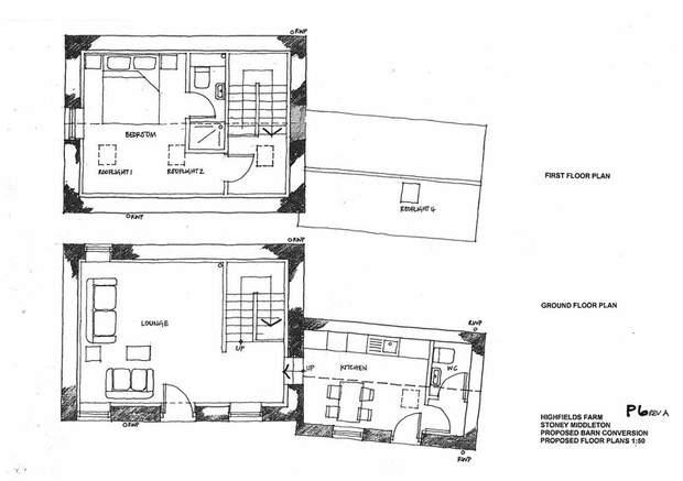 Barn at Highfields Farm, Middleton Lane, Stoney Middleton, Hope Valley - Image 9