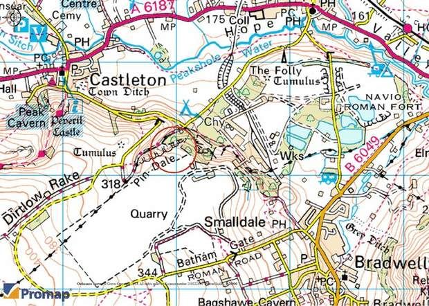 Pin Dale Quarry Lot 1, Pindale Road, Castleton, Hope Valley - Image 2