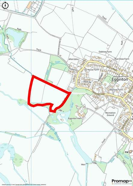 land off, Fishpond Lane, Egginton, Derby - Image 2