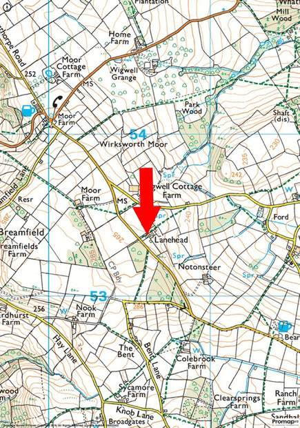 Lot 2 - Barn at , Lane Head Farm, Alderwasley, Belper - Image 6