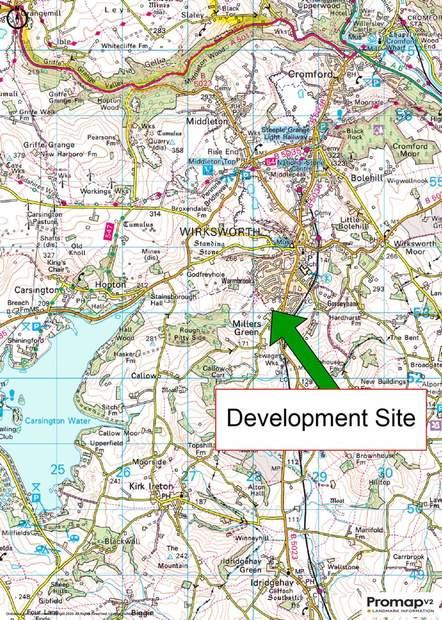 Development Site, Millers Green, Wirksworth - Image 8