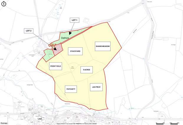 Manor Farm, Barn for development and 55 acres, Dethick, Matlock - Image 38