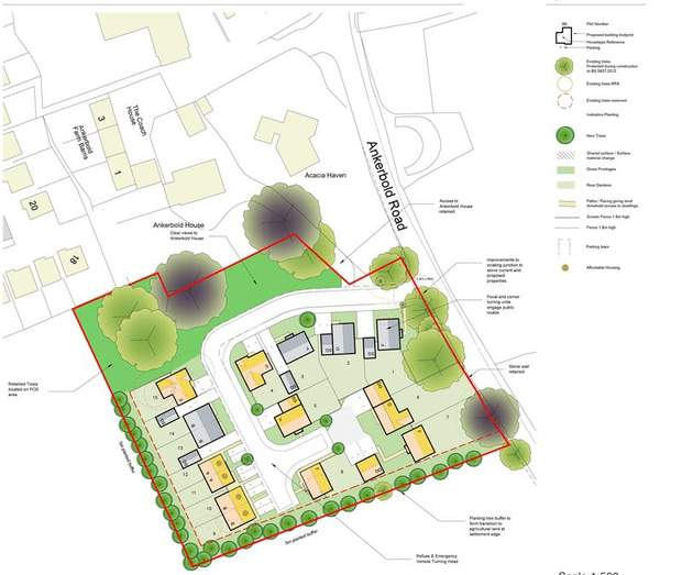 Development Land , Ankerbold Road, Old Tupton, Chesterfield - Image 1