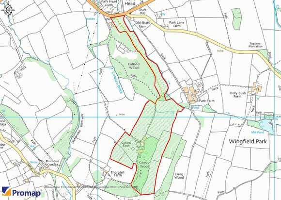 Culland Farm, Wingfield Park, South Wingfield