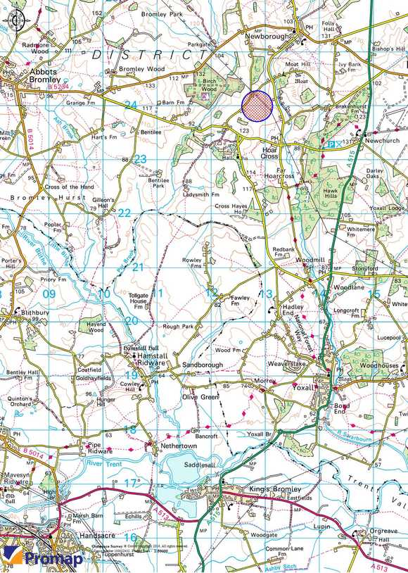 Paddock Land - Lot 1, Thorney Lanes, Hoar Cross, Burton on Trent