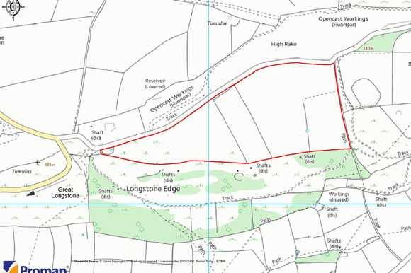 Land at Longstone Edge, Great Longstone, Bakewell