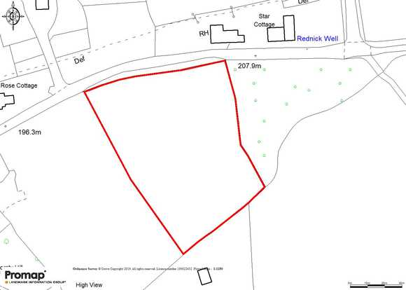 Land at , Gorsty Hill, Tean, Stoke-On-Trent