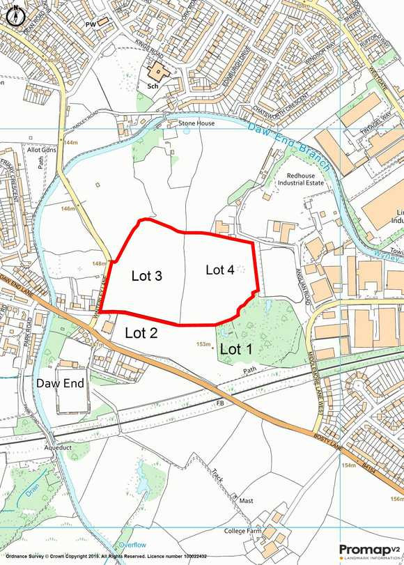 Lot 3 - Land at Bosty Lane, Daw End, Walsall