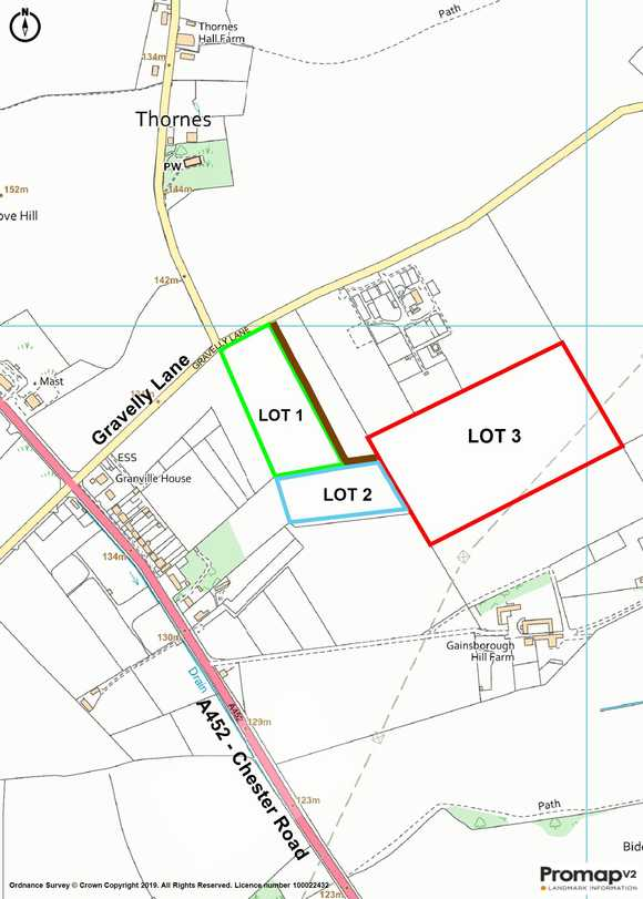 Lot 2 -, Gravelly Lane , Stonall , Walsall