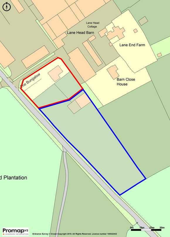 Lot 1 - Bungalow at , Lane Head Farm, Alderwasley, Belper