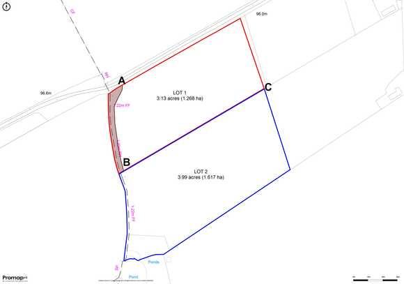 Lot 2 - Land off Rowley Park Road, Hadley End, Yoxall, Burton-On-Trent