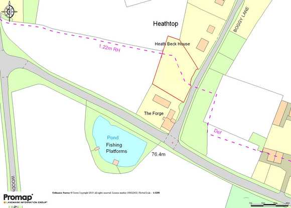 Development site adjacent to The Forge, Boggy Lane, Church Broughton, Derby