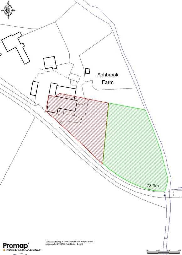 Barn at Ashbrook Farm, Orange Lane, Abbots Bromley, Rugeley