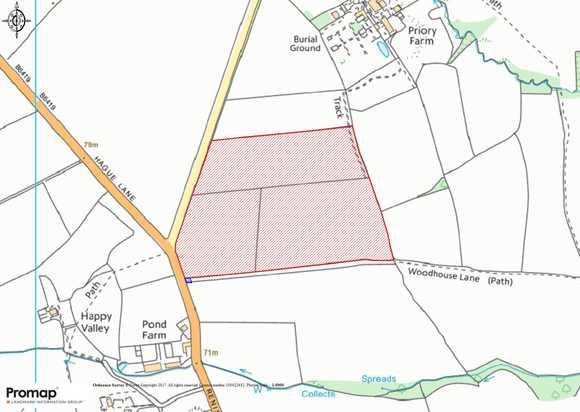 Land off Renishaw Road, Beighton Fields, Renishaw, Sheffield