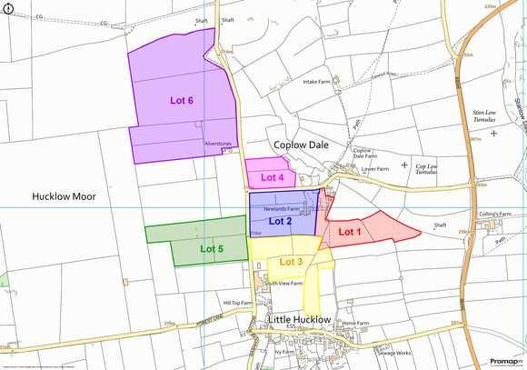 Lot 5: Newlands Farm, Coplow Dale, Little Hucklow, Buxton