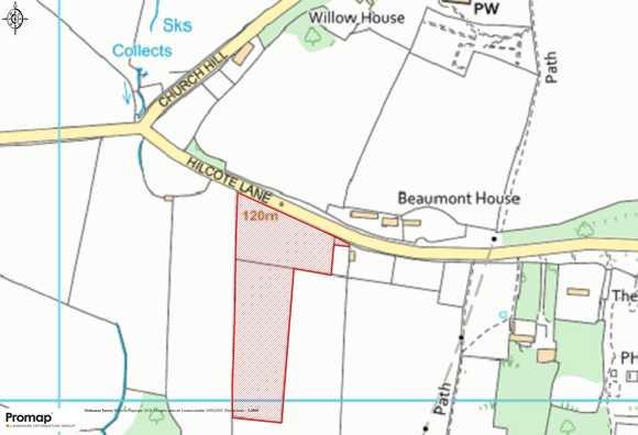 Land off Hilcote Lane, Hilcote, Alfreton