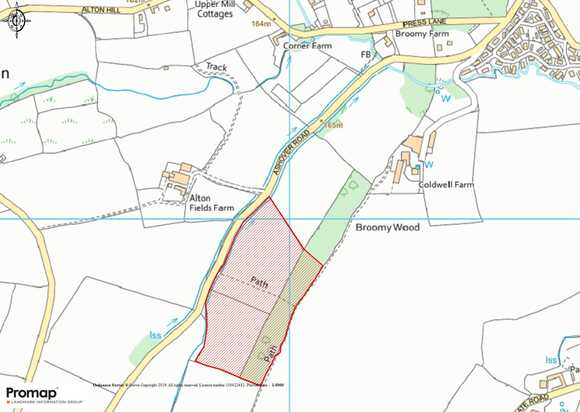 Land and Woodland off Ashover Road, Alton, Chesterfield