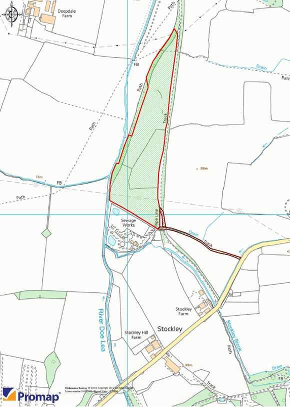 Land to rear Stockley Farm, Stockley